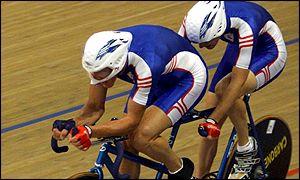 2000 Sydney Paralympics with Pilot Ray Hughes