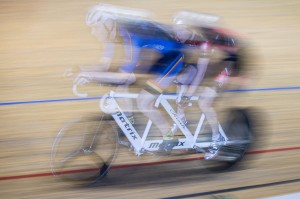 Looking fast in the 4km pursuit