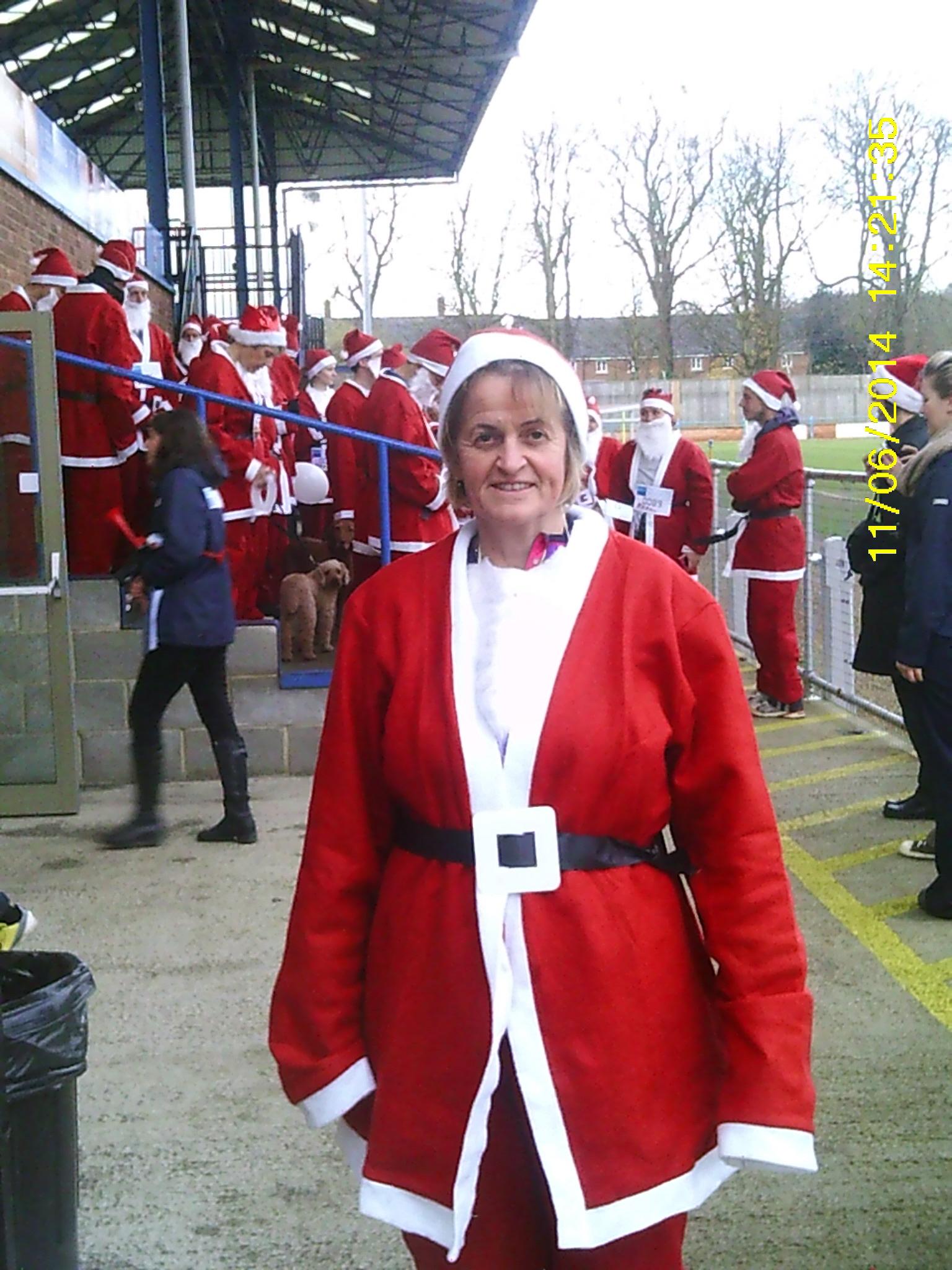 Jill's Santa Run