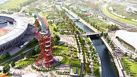 The Olympic Park will provide a spectacular backdrop for the Sport Relief Events in March.