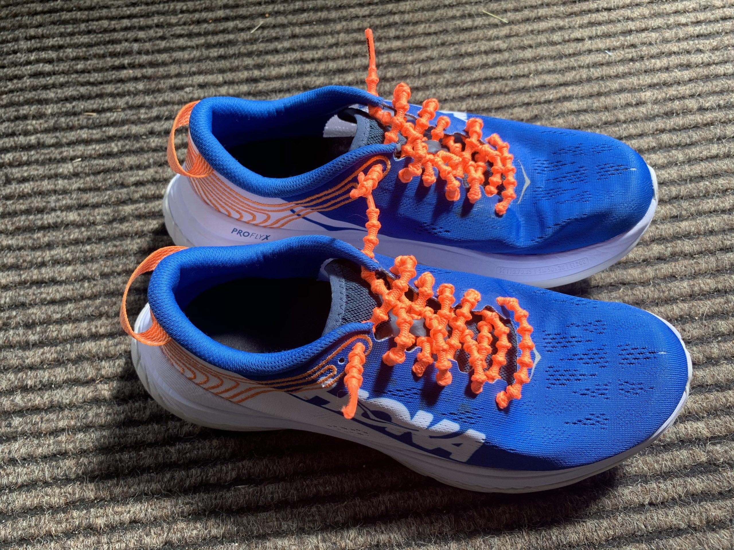 Xtenex laces - problem solved!